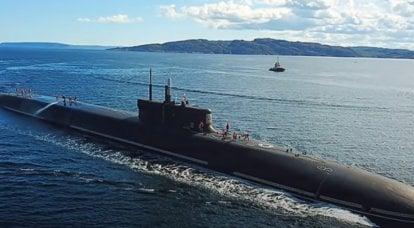 """""""बोरे-ए"""" परियोजना के पनडुब्बी मिसाइल वाहक """"कन्याज़ ओलेग"""" ने परीक्षण के पहले चरण को पूरा कर लिया है"""
