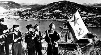 ソ連の電撃戦。 スターリンがポートアーサーを復活させた方法