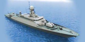 """Project 21631 """"Buyan-M""""  - 小型ロケット船"""