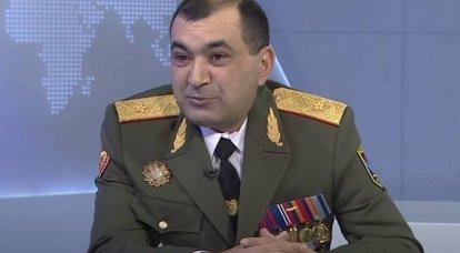 Le chef adjoint de l'état-major général des forces armées, qui a critiqué les propos de Pashinyan sur l'Iskander russe, a été démis de ses fonctions en Arménie