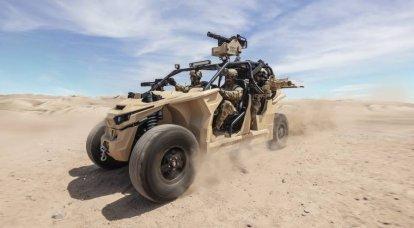 Nikola Reckless UTV:特殊部隊用の電気自動車