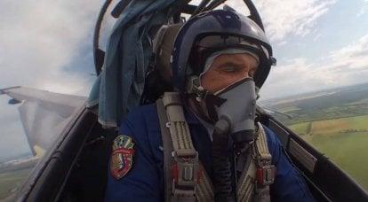 वेब पर एक यादृच्छिक हमले के दौरान Su-35 और Su-30 वार्ता की प्रतिलिपि