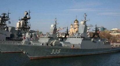 Shoigu宣布与太平洋舰队签订了六艘护卫舰的合同