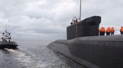 Borey-Aプロジェクトの最初の連続潜水艦ミサイル運搬船の艦隊への移送条件