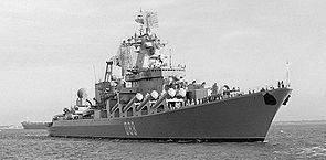太平洋艦隊は巡洋艦「Marshal Ustinov」を強化する