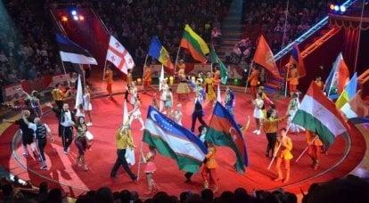 科罗拉多蟑螂的笔记。 整个世界都是一个剧院,只有乌克兰才是马戏团!
