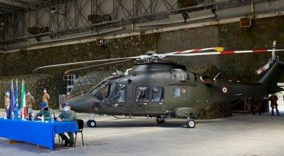 इतालवी सेना ने पहला प्रशिक्षण हेलीकाप्टर AW169 प्राप्त किया