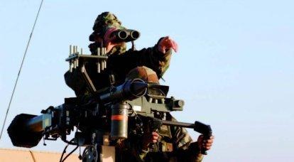 「手動」防空システム 7の一部 MANPADSミストラル