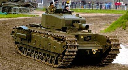 इंजीनियरिंग टैंक चर्चिल एवीआरई (कनाडा-यूनाइटेड किंगडम)