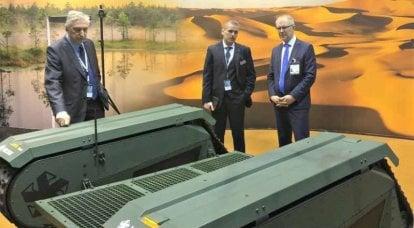 L'industria della difesa estone si presenta ad Abu Dhabi