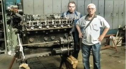 Tank motoru Maybach HL 230: ZIL üzerinde Sovyet incelemeleri ve onarımları