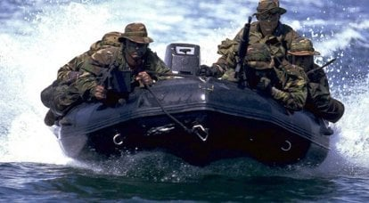 """""""Seals"""" - the elite of the American special forces"""