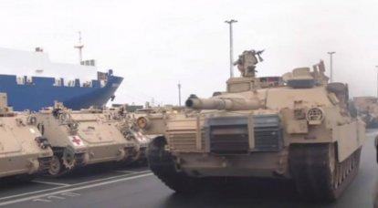 Os Estados Unidos levarão os militares para mais perto da fronteira com a Rússia: Moscou está pronta para ações retaliatórias
