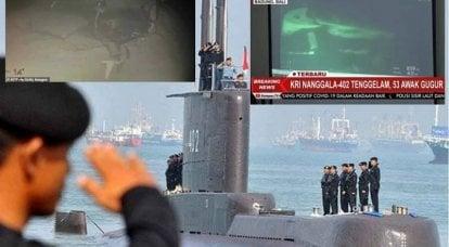 印尼潜艇KRI Nanggala-402死亡的可能原因