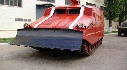 来自哈尔科夫的坦克机器人 - 未来的消防车