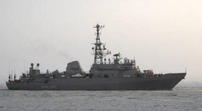 Parceiros ocidentais estão novamente preocupados com a entrada do navio da Marinha russa em Port Sudan