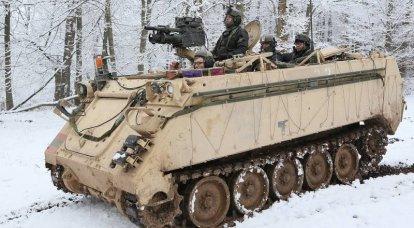 M113. Tarihteki en büyük zırhlı personel gemisi