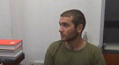 Azerbaycan tarafı Ermeni savaş esirinin sorgu görüntülerini yayınladı