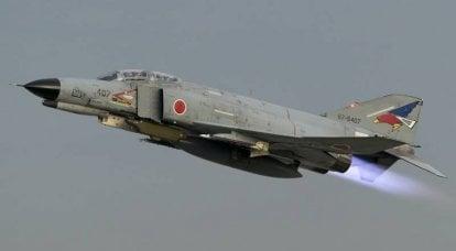 冷战期间的日本战斗机拦截器