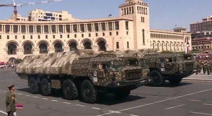 """""""마하 XNUMX의 속도로 적 비행장으로"""": 아르메니아 이스 칸 데르의 위협에 대한 미국 언론 보도"""