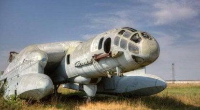 垂直飞行的两栖BBA-14(Monino)