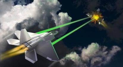 Laserwaffen in Kampfflugzeugen. Kann man dem widerstehen?