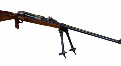 Fusil antichar Mauser Tankgewehr M1918. Premier du genre