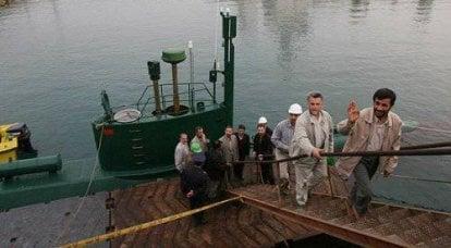 新しいイラン潜水艦