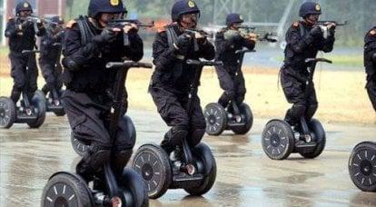 中国是未来的军队