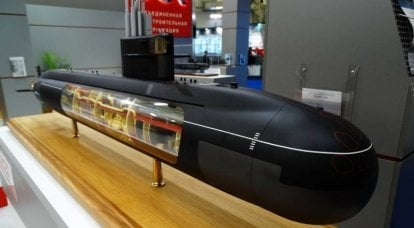 "The project of the fifth generation nuclear submarine ""Kalina"" received the number 777A"