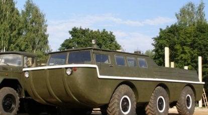 Deneyimli arazi aracı ZIL-49042
