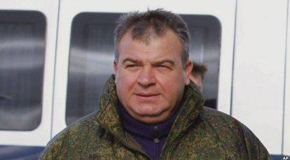 """Na """"defesa de Serdyukov"""", e não apenas sobre ela"""