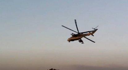 シリアは、ハサカ州で親トルコの過激派によるロシアのヘリコプターの砲撃を発表しました