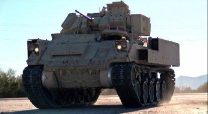 油圧空気圧サスペンション付きBMP M2 Bradley