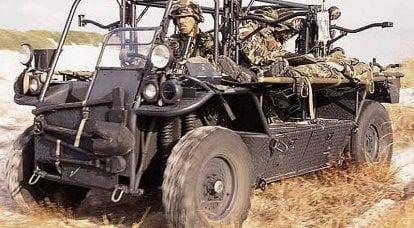 国外车辆特种部队作战。 1的一部分
