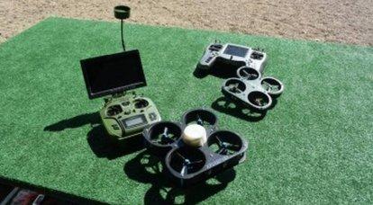 """El equipo """"Ratnik"""" se complementará con un nano-drone"""