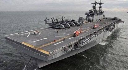 美国海军的两栖两栖集团。 虚张声势还是真正的威胁?