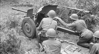 第二世界の武器。 初期の対戦車砲