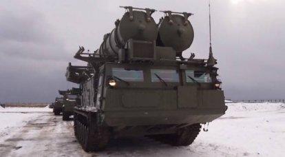 S-300V4 대공 미사일 시스템으로 덮인 쿠릴 열도