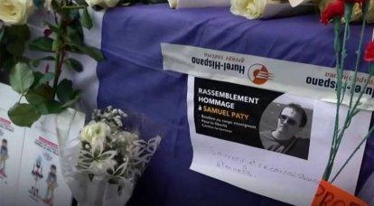 Rescaldo do ataque ao professor Samuel Pati: Ministério do Interior francês pede a expulsão de mais de 230 extremismo suspeito