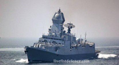 Nouveaux navires de la marine indienne: INS Kolkata et INS Kamorta