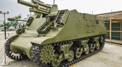 武器についての物語。 邪悪な信者:M7およびM7B1プリースト自走榴弾砲