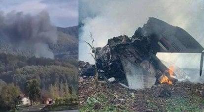 El caza MiG-21 se estrelló en el oeste de Serbia: se conoce el destino del piloto