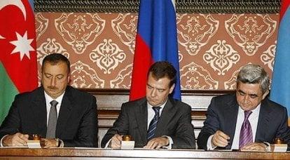 俄罗斯的中立令亚美尼亚人和阿塞拜疆人感到惊讶