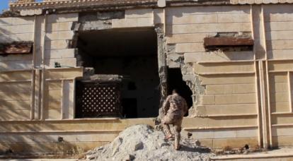 미군 공습으로 시리아 내 민간 기반시설 파괴