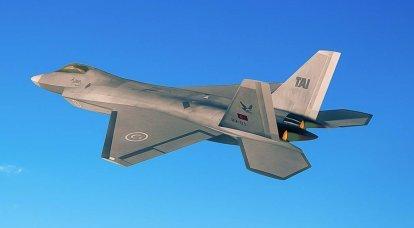 TF-X es un caza turco de quinta generación. Comienzo