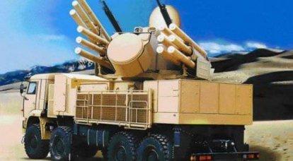"""防空导弹炮综合体""""Pantsir-С1"""""""