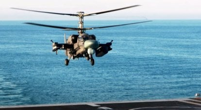 Russian Helicopters holding continued work on the creation of the Ka-52K Katran helicopter