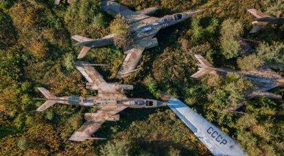 希少超音速Yak-28:フライパンへの最後のステップ