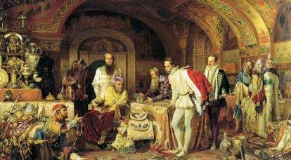 Rusia e Inglaterra: Aislamiento no brillante 1553-1689